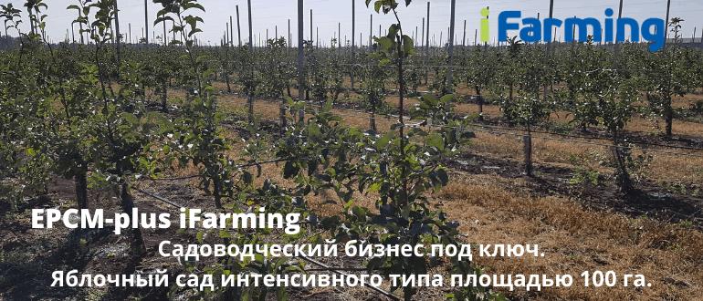 iFarming - управляет реализацией инвестиционными проектами в сельском хозяйстве (project management).